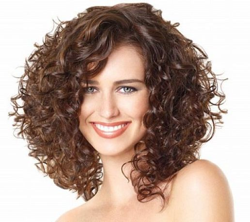Биозавивка в монокэ на средние волосы